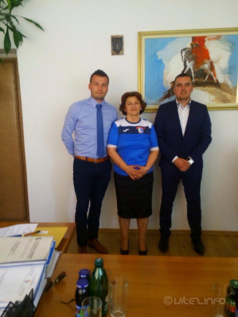Tajnik Stjepan Badrov, ministrica Katica Čerkez i glasnogovornik Ivan Sajević