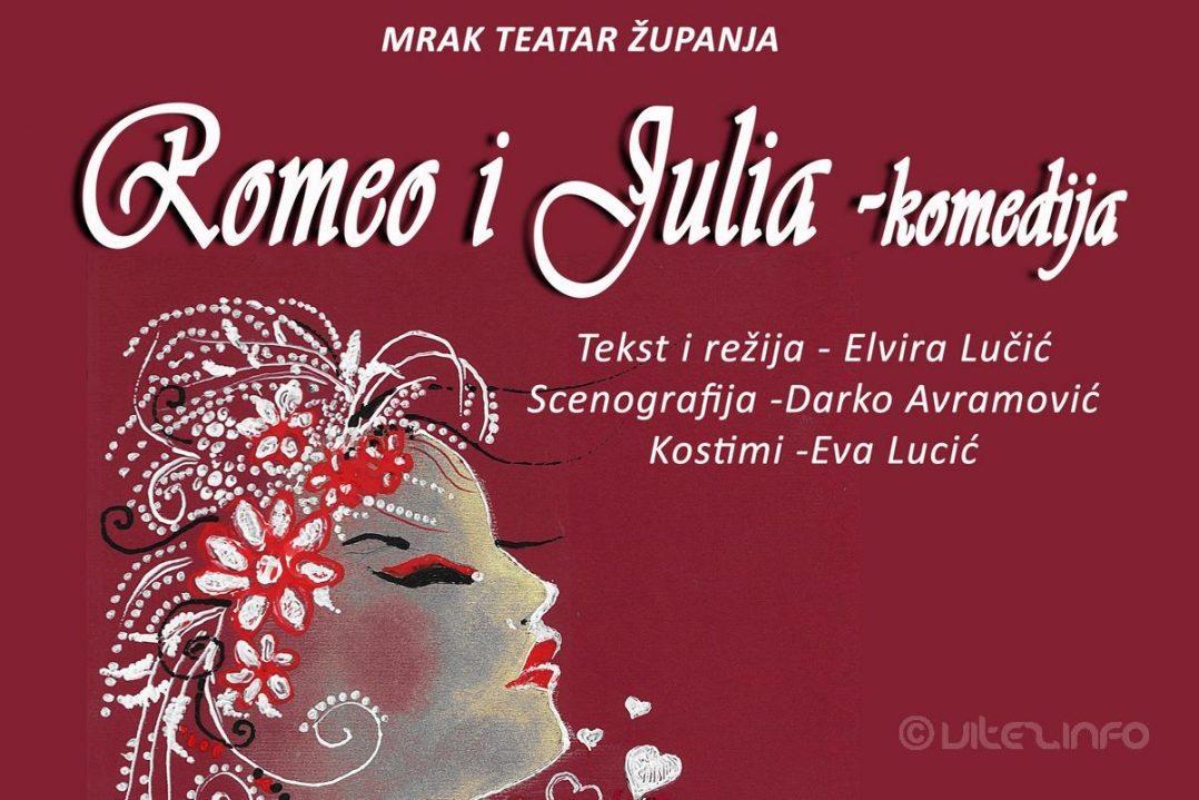 U Subotu Navečer Na Danima Kazališta Romeo I Julia Mrak
