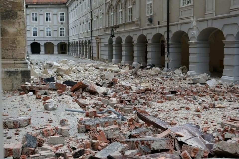 Jak Potres Pogodio Zagreb Petnaestogodisnje Dijete U Teskom